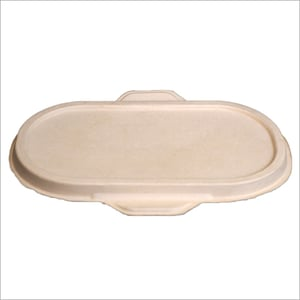 Disposable Bagasse Container Lid