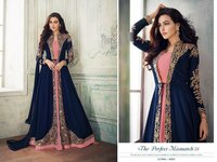 Ashirwad 8203 Full Embroidered Stitched Gown
