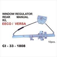 Versa Window Regulator Rear Manual R-L