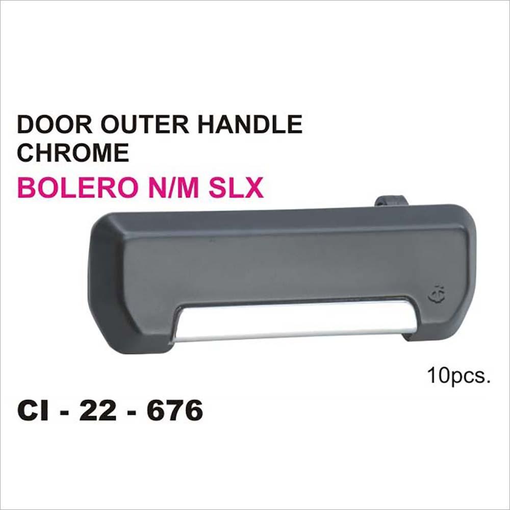 Bolero Outer Handle Chrome Door