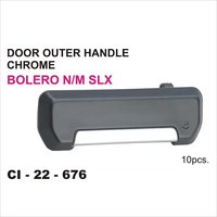 Bolero Outer Handle Chrome Door