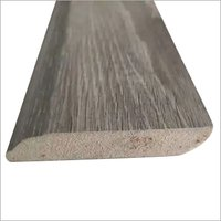 Solid wooden skirting baseboard