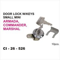 Armada Door Lock Small Mini W-Keys