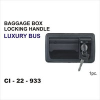 Bus Baggage Box Locking Handle