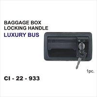 Bus Baggage Box Locking Handle