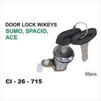 Tata Ace,Sumo, Spacio, Door Lock W/Keys