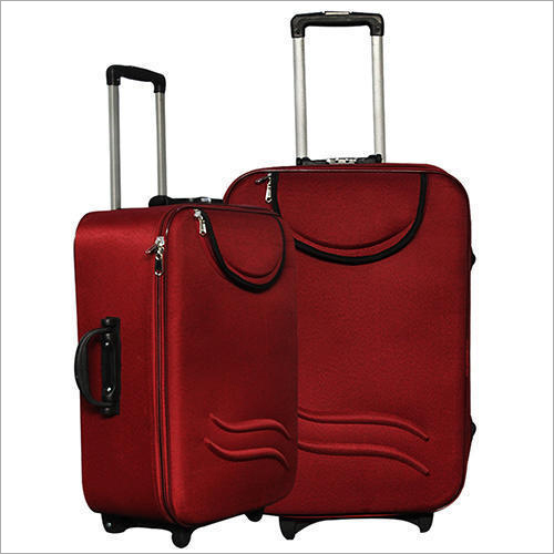 Red Travel Trolley Bag