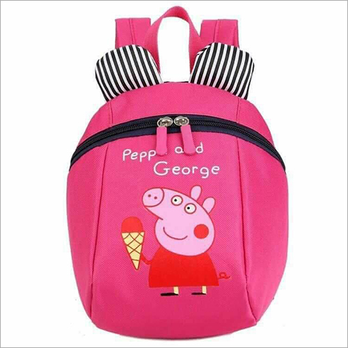 Kids Peppa Printed School Bag