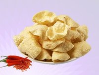 Red Chilli Khichiya Papad / Papadi