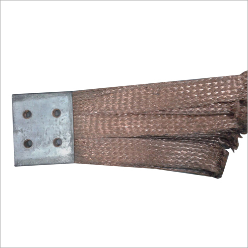 Copper Flat Braided Flexible Connector