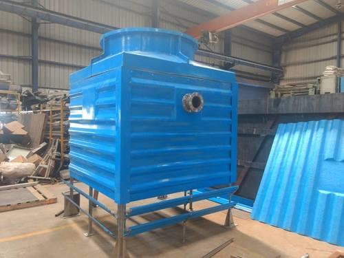 Blue Bottle Shape Cooling Tower