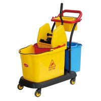 WRINGER TROLLEY 3 BUCKET