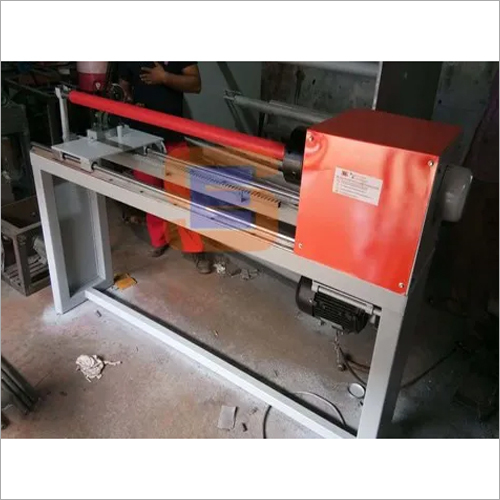 PVC Insulation Tape Slicer Machine