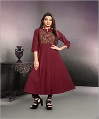 Long fancy kurti