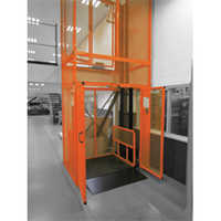 Mezzanine Floor Goods Lifts
