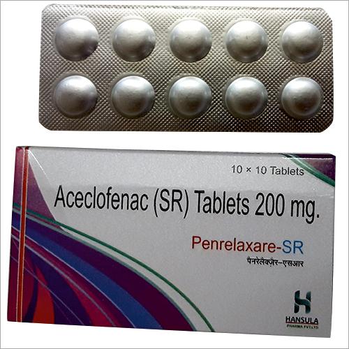 Aceclofenac SR