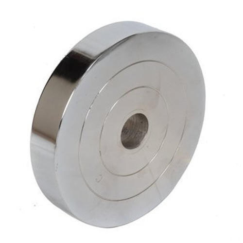 Weight Plate Iron Steel - Chrome