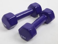 Plastic Coated Dumbells