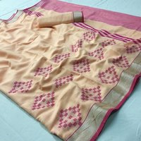 Soft Linen Fabric Saree