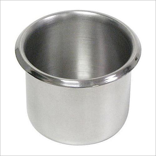 Round Stainless Steel Vati