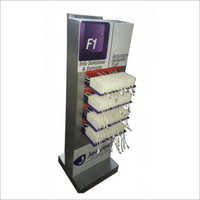 Advertising Floor Mounted Charging Station