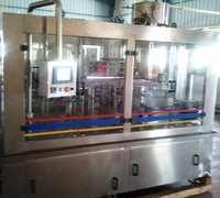 Automatic Bottling Plant Rinsing Filling Capping