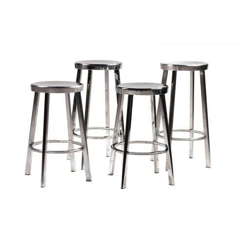 Stainless Steel Stool Set
