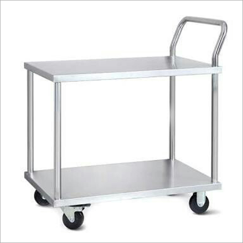 Mild Steel 2 Tier Trolley