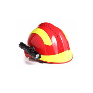 Firefighter Helmet with Torch