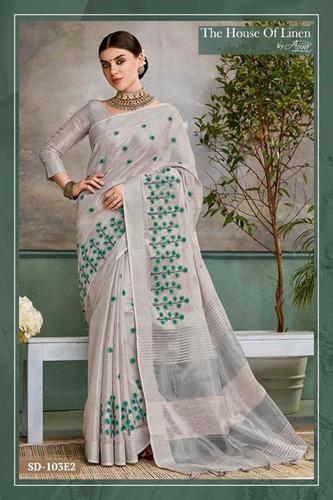 Cotton Banarasi Silk Sarees