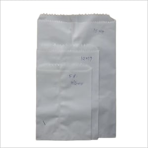 White plain paper grocery covers (FP