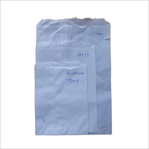 White plain grocery paper bags(Glassine paper)
