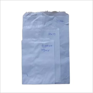 White plain grocery paper bags(Glassine paper