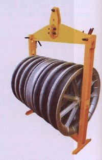 Aerial Roller For Seven Sheave
