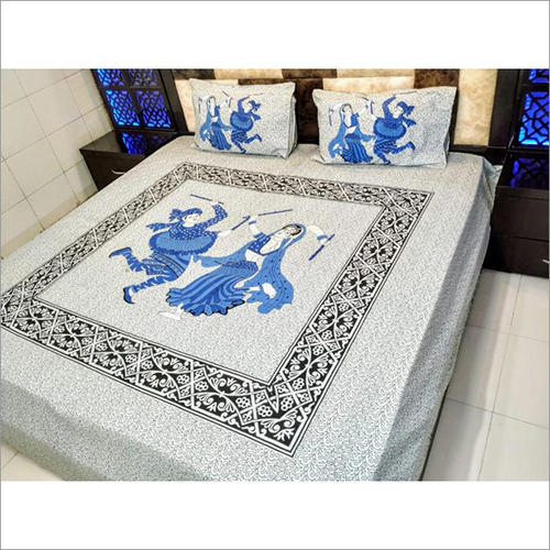 Traditional Jaipuri Print Bedsheets