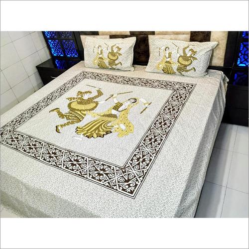Jaipuri Print Designer Bedsheets