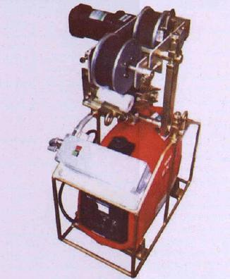 Self Moving Traction Machine