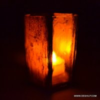 Squire Glass Candle Holder