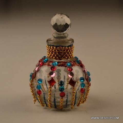 Glass Decorative Perfume Bottle