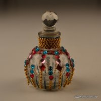 Glass Decorative Perfume Bottle