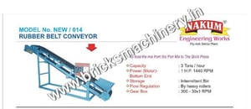 Bricks Machine Conveyor Belt
