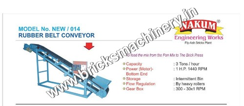 Bricks Machine Conveyor Belt
