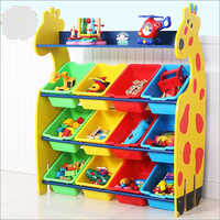 Play School Toy Racks