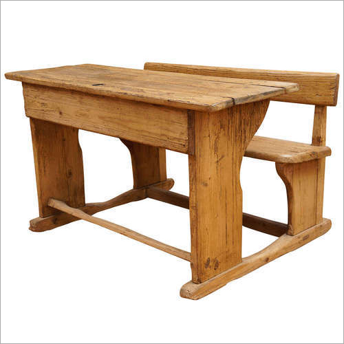 Wooden School Desk