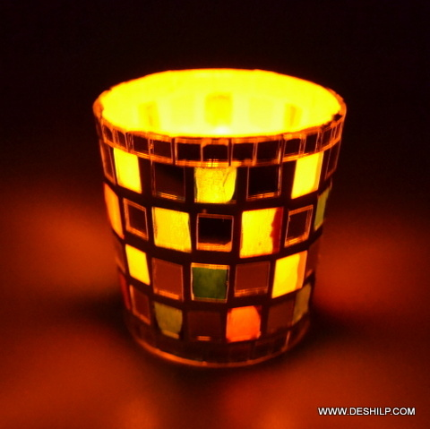 Decor Glass Candle Holder