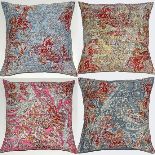 New Paisely Kantha Cushion Cover