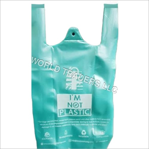 W Cut Biodegradable Bag