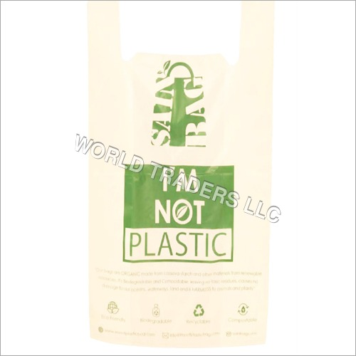 U Cut Biodegradable T-Shirt Bag