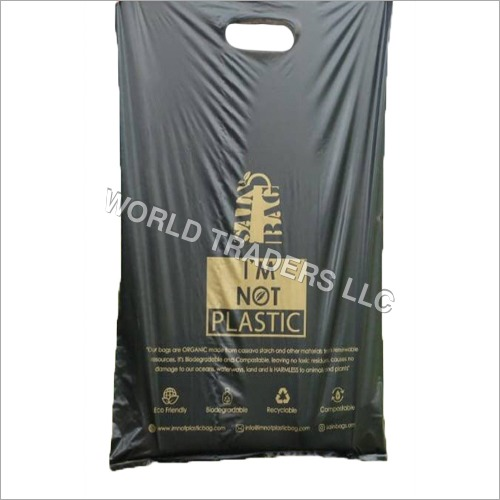 Biodegradable Grip Hole Shopping Bag