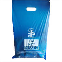 D Cut or Grip Hole Style Biodegradable Bag